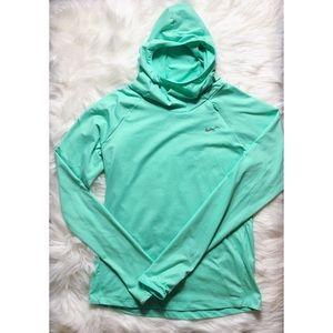Mint Nike Hoodie